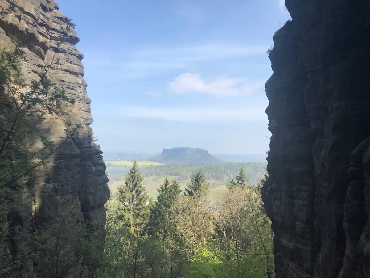 Pfaffenstein Nadelöhr Liliensteinblick