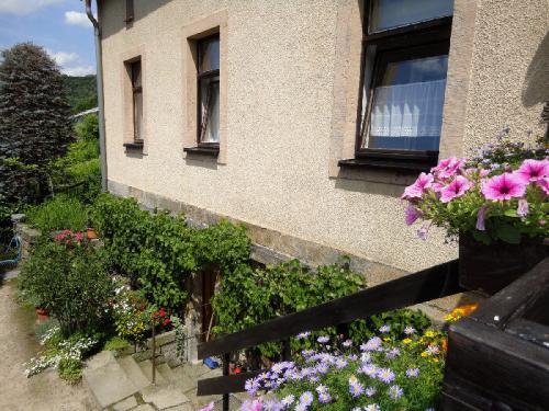 Ferienwohnung von der Terrasse